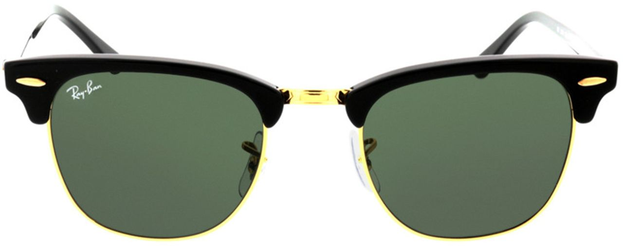 Picture of glasses model Ray-Ban Clubmaster RB3016 W0365 49-21 in angle 0