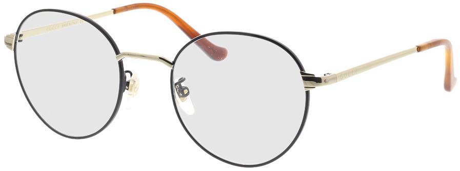 Picture of glasses model Gucci GG0581O-006 50-21 in angle 330