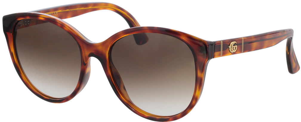 Picture of glasses model Gucci GG0631S-002 56-18 in angle 330
