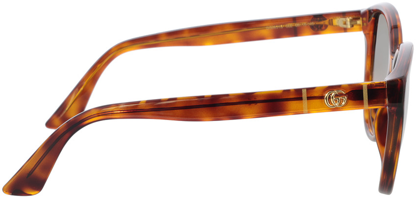 Picture of glasses model Gucci GG0631S-002 56-18 in angle 90