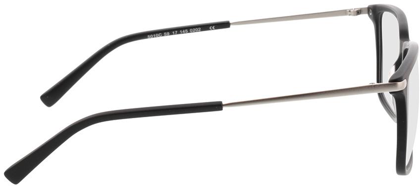 Picture of glasses model Timor-matt schwarz in angle 90