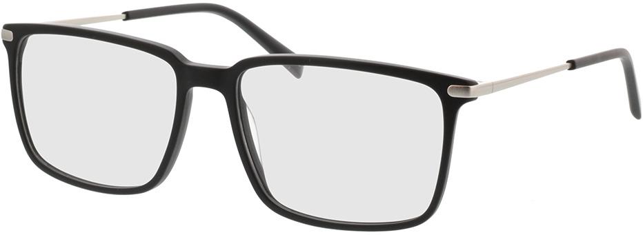 Picture of glasses model Timor-matt schwarz in angle 330