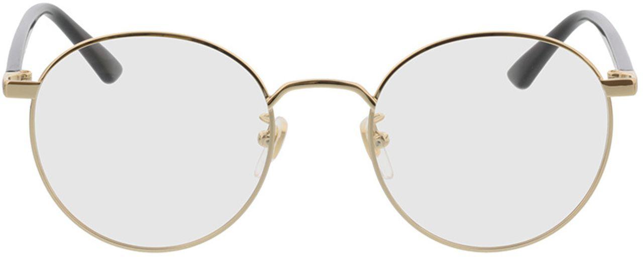 Picture of glasses model Gucci GG0297OK-001 52-21 in angle 0