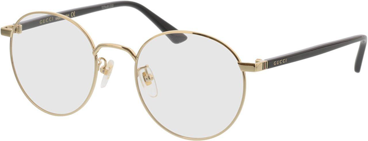 Picture of glasses model Gucci GG0297OK-001 52-21 in angle 330