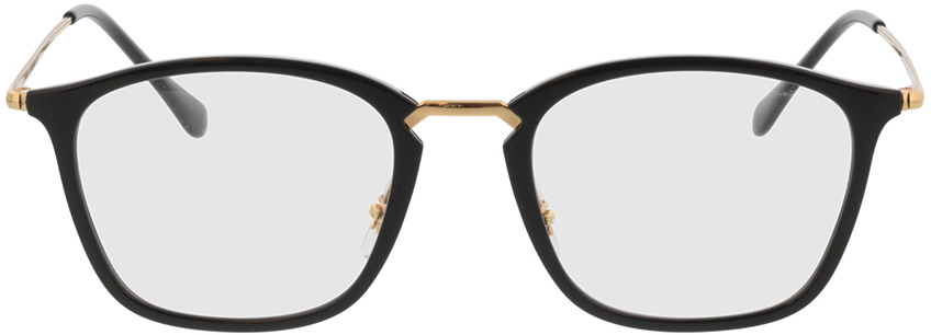 Picture of glasses model Ray-Ban RX7164 2000 52-20 in angle 0