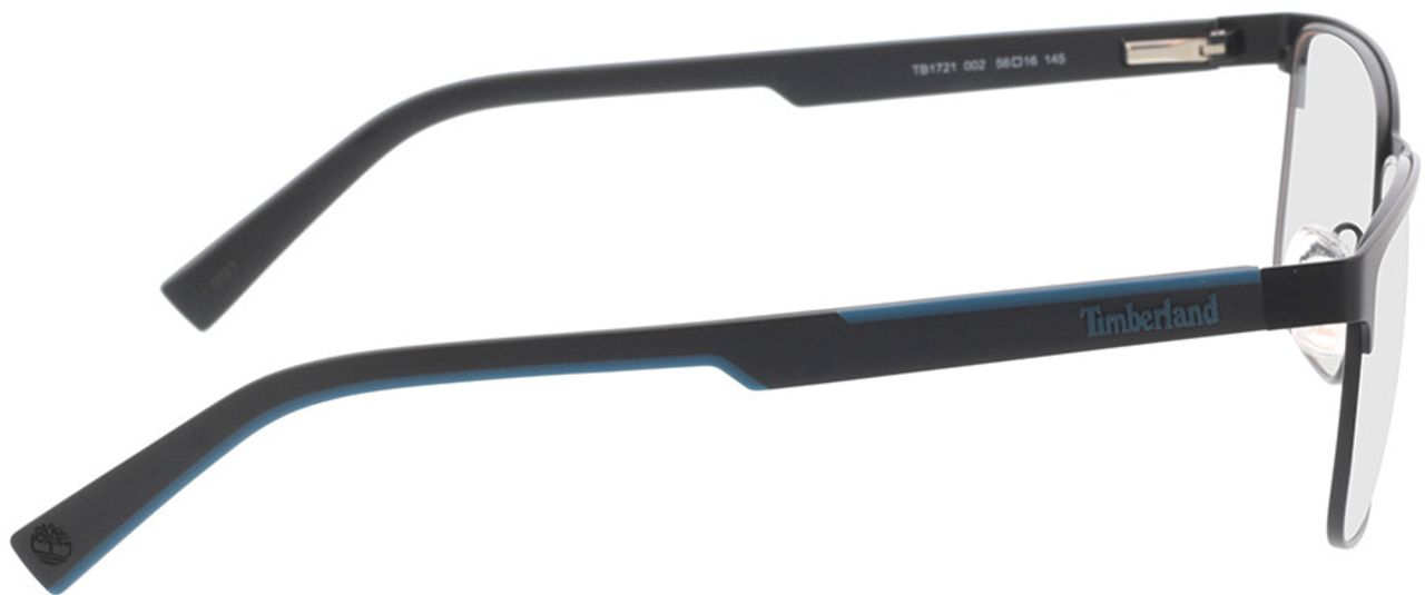 Picture of glasses model Timberland TB1721 002 56-16 in angle 90