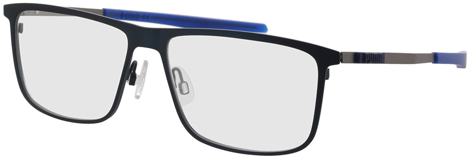 Picture of glasses model Puma PU0303O-002 59-15 in angle 330