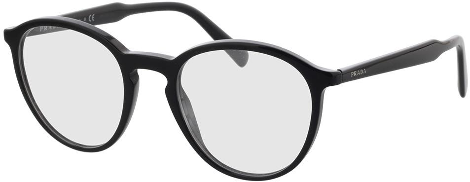 Picture of glasses model Prada PR 13TV 1AB1O1 51 20 in angle 330