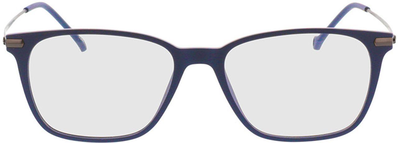 Picture of glasses model Eloro-matt schwarz in angle 0