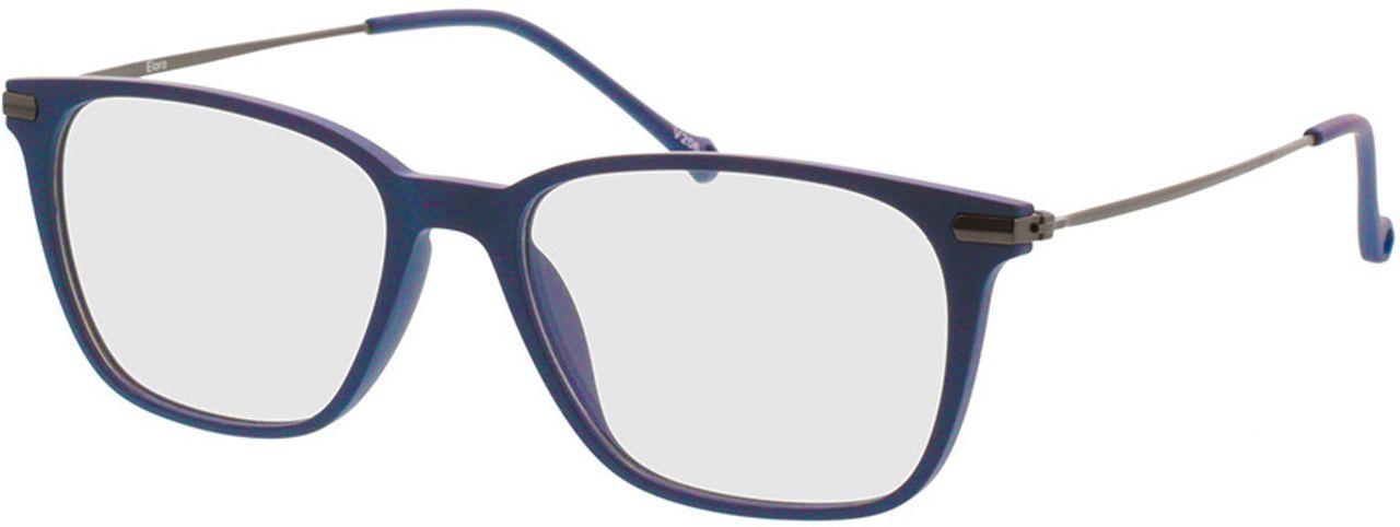 Picture of glasses model Eloro-matt schwarz in angle 330