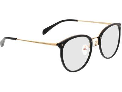 Brille Charlotte-schwarz/gold