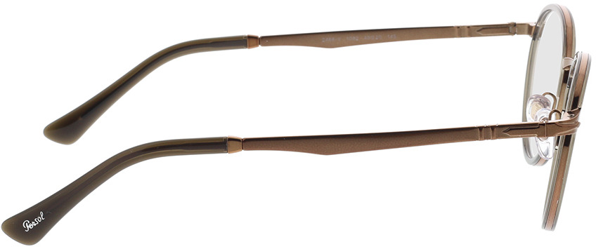 Picture of glasses model Persol PO2468V 1092 49-20 in angle 90