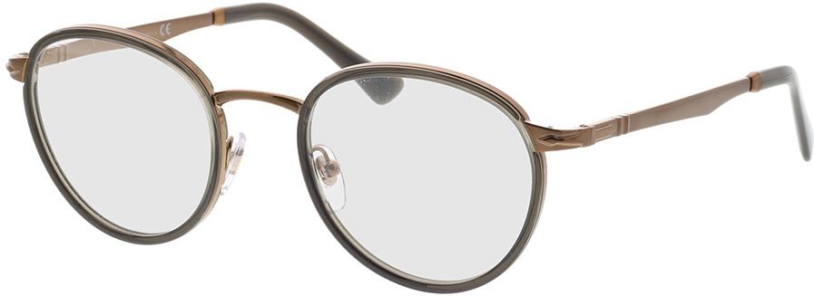 Picture of glasses model Persol PO2468V 1092 49-20 in angle 330