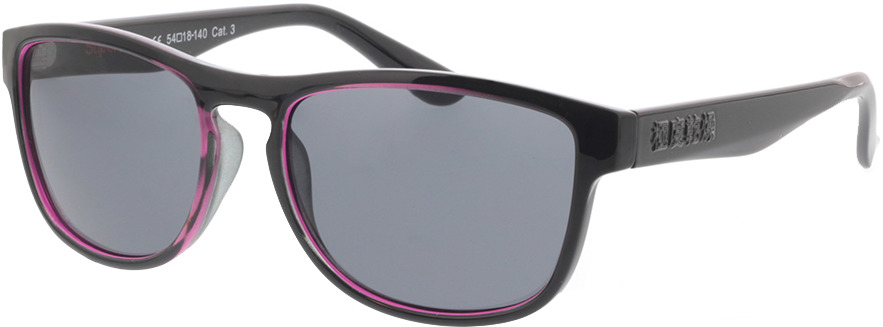 Picture of glasses model Superdry SDS Thirdstreet 172 black/pink 54-18 in angle 330