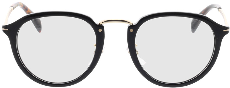 Picture of glasses model David Beckham DB 1014 2M2 49-23 in angle 0