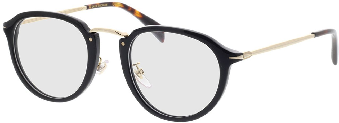 Picture of glasses model David Beckham DB 1014 2M2 49-23 in angle 330