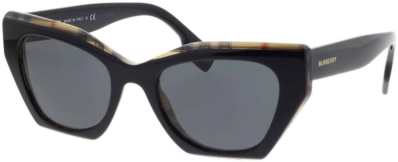 Picture of glasses model Burberry BE4299 382887 52-20 in angle 330