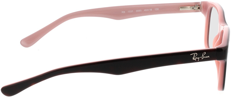 Picture of glasses model Ray-Ban Junior RY1531 3580 48-16 in angle 90