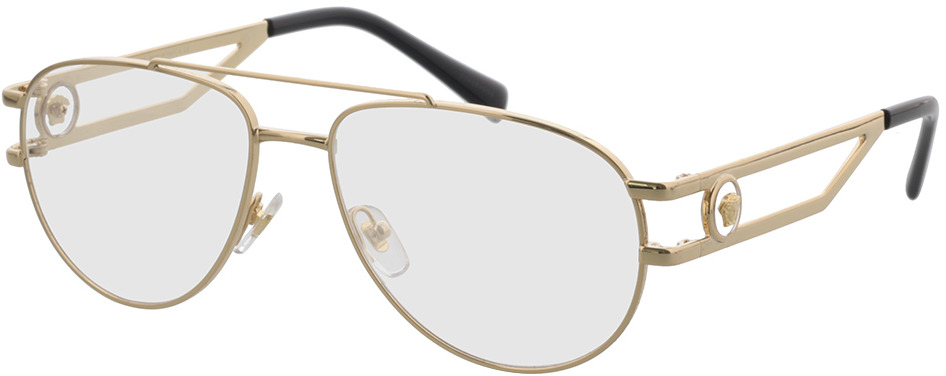 Picture of glasses model Versace VE1269 1002 55 in angle 330