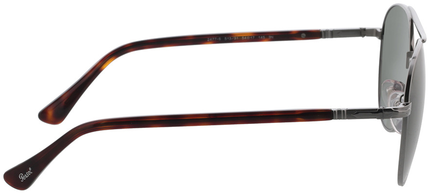 Picture of glasses model Persol PO2477S 513/31 54 in angle 90