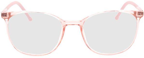 Picture of glasses model Alea-rosa-transparent in angle 0