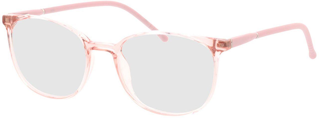 Picture of glasses model Alea-rosa-transparent in angle 330