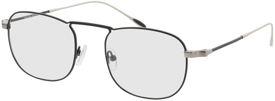 Picture of glasses model Huntsville-schwarz/silber in angle 330