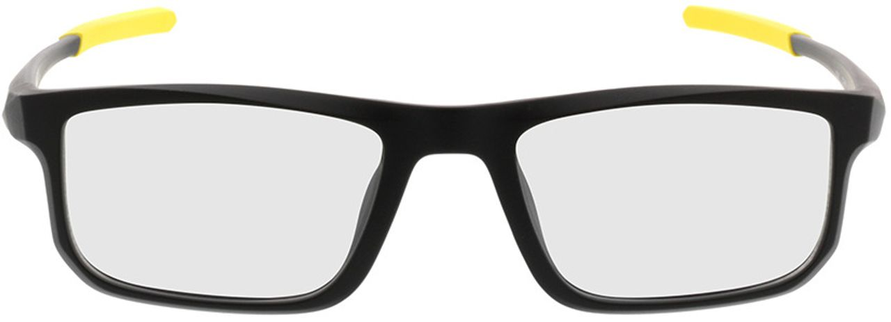 Picture of glasses model Baltimore-mattschwarz/gelb in angle 0