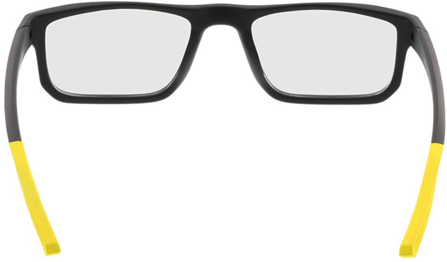 Picture of glasses model Baltimore-black-yellow in angle 180