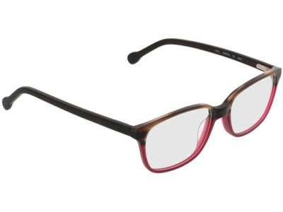 Brille Trient-braun-meliert/rot