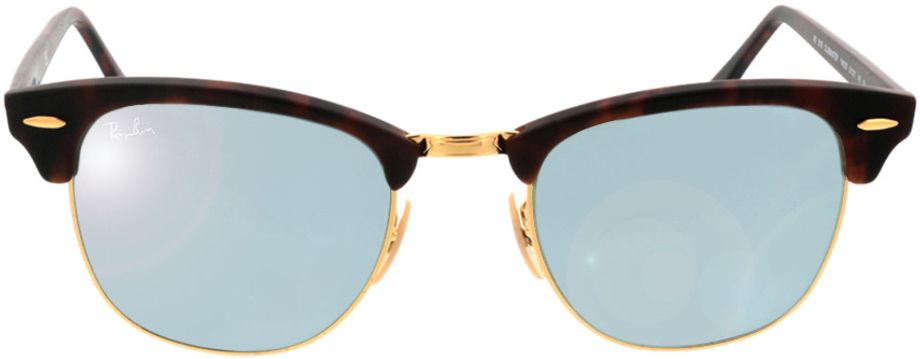 Picture of glasses model Ray-Ban Clubmaster RB3016 114530 51-21 in angle 0