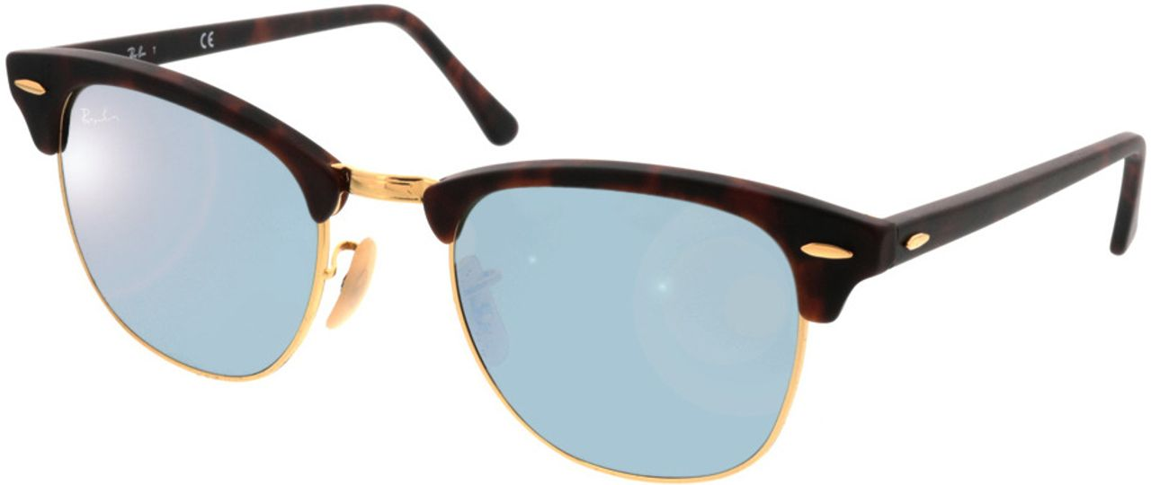 Picture of glasses model Ray-Ban Clubmaster RB3016 114530 51-21 in angle 330