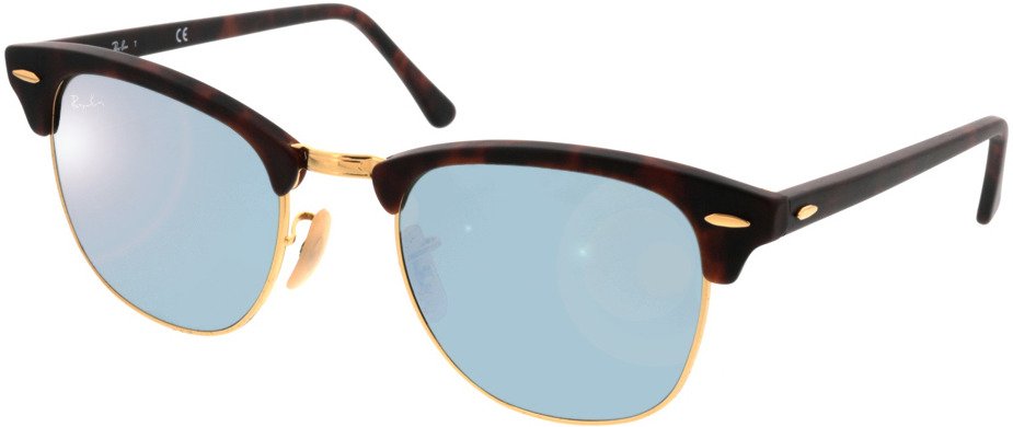 Picture of glasses model Ray-Ban Clubmaster RB3016 114530 51 21