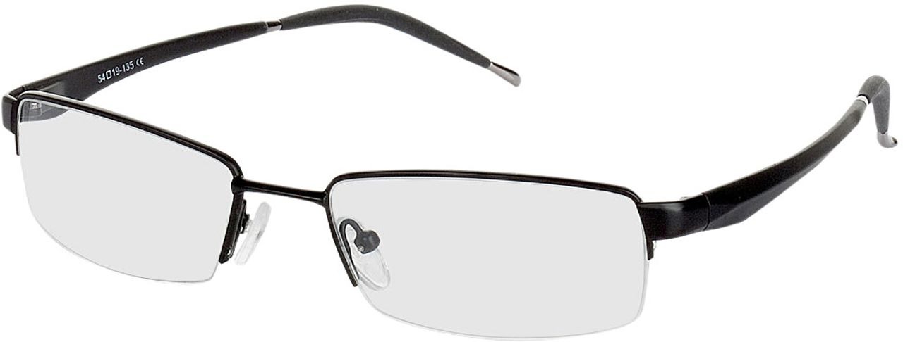 Picture of glasses model Brasilia black in angle 330