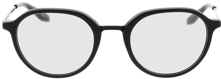 Picture of glasses model Gineva-matt schwarz in angle 0