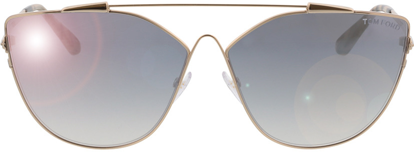 Picture of glasses model Tom Ford Jacquelyn FT0563 28C in angle 0