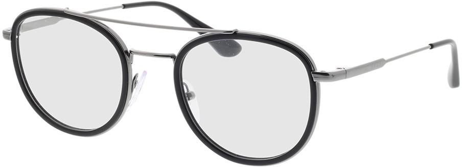Picture of glasses model Prada PR 66XV M4Y1O1 49-22 in angle 330