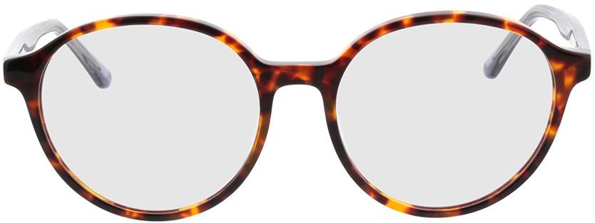 Picture of glasses model Cali havana/grijs transparant in angle 0