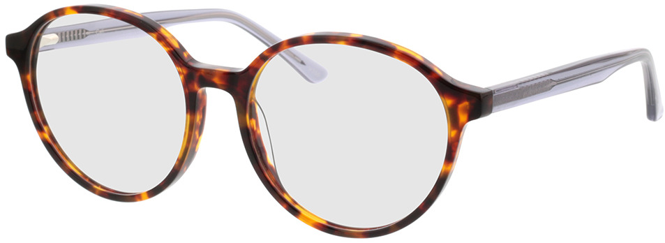 Picture of glasses model Cali havana/grijs transparant in angle 330