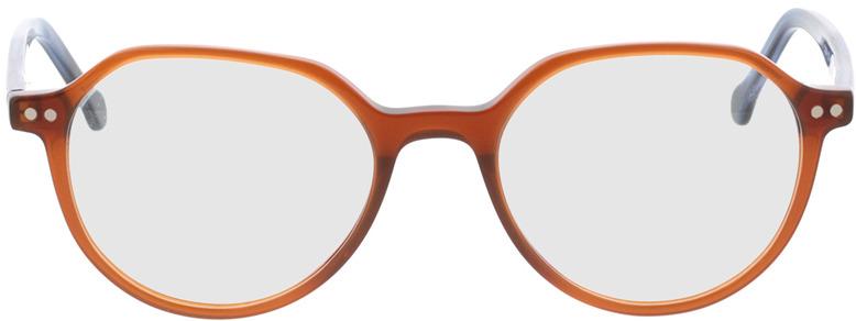 Picture of glasses model Sorrento-braun/blau in angle 0