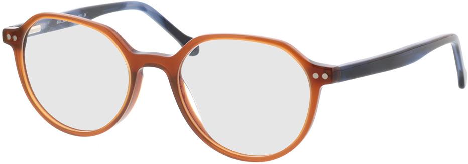 Picture of glasses model Sorrento-braun/blau in angle 330