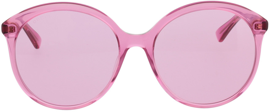 Picture of glasses model Gucci GG0257S-005 59-19 in angle 0