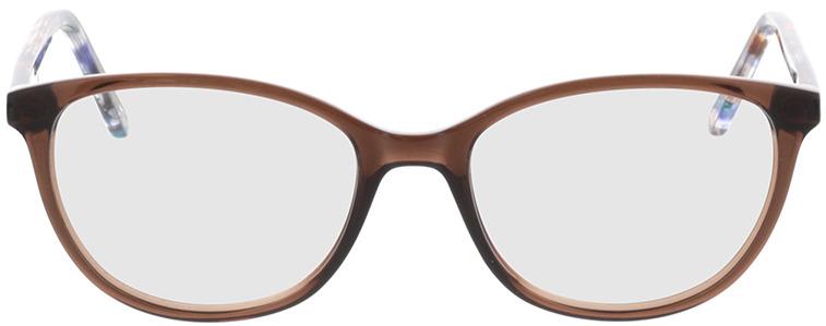 Picture of glasses model Dakota-braun-transparent in angle 0