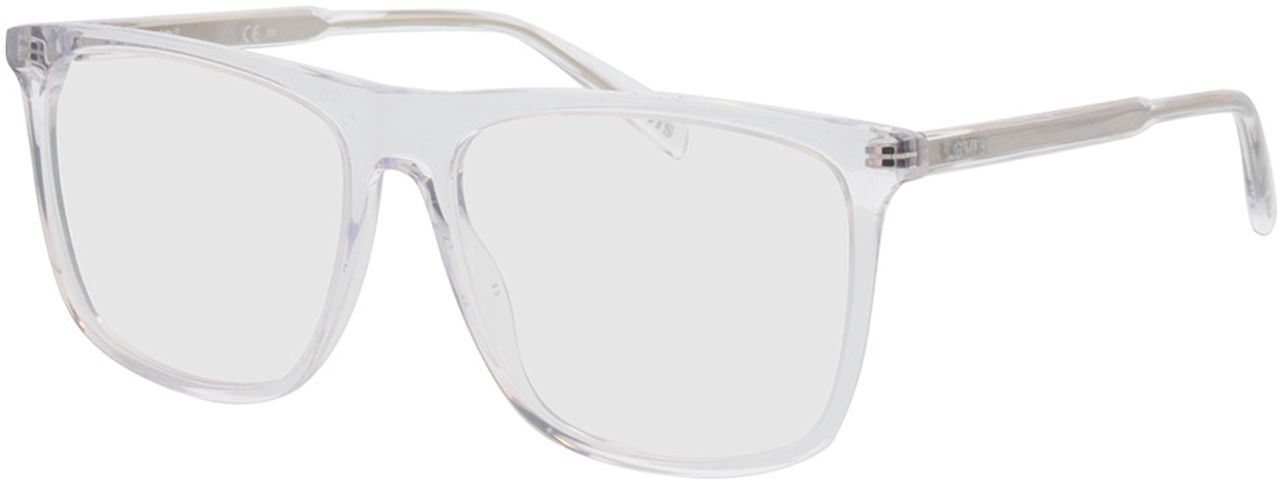 Picture of glasses model Levi's LV 1016 900 55-15 in angle 330