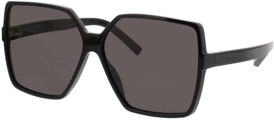 Picture of glasses model Saint Laurent SL 232 BETTY-001 63-13 in angle 330