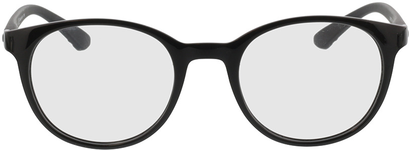 Picture of glasses model Calvin Klein CK19570 001 50-20 in angle 0