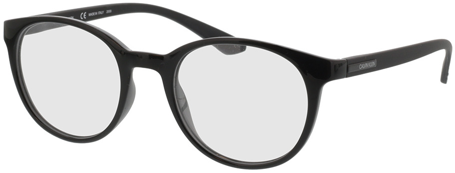Picture of glasses model Calvin Klein CK19570 001 50-20 in angle 330