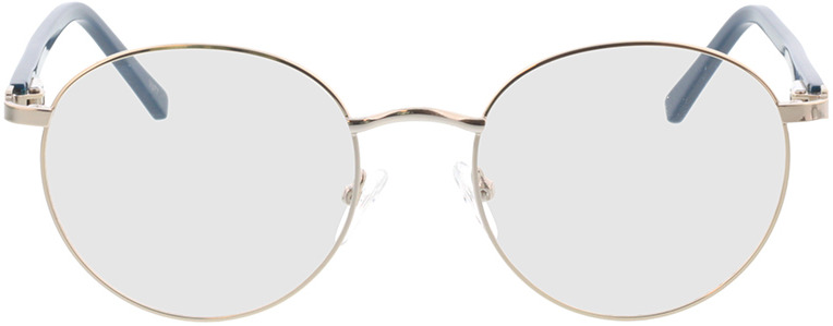 Picture of glasses model Lino-silber in angle 0