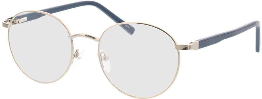 Picture of glasses model Lino-silber in angle 330