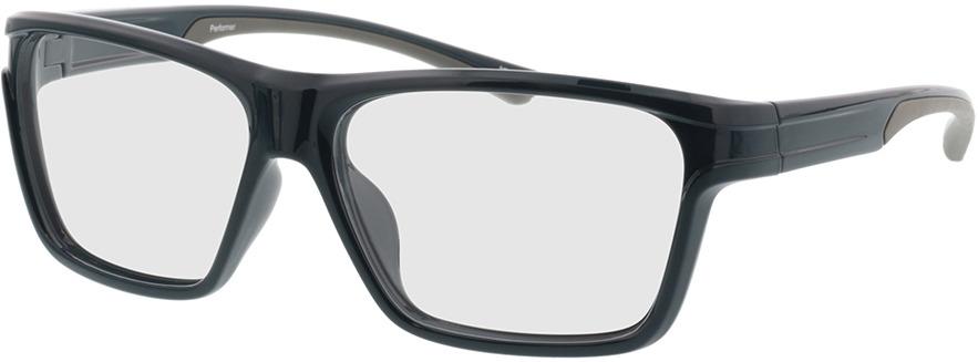 Picture of glasses model Performer-dunkelblau/grau in angle 330